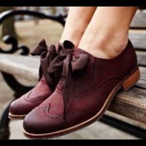 Sebago Claremont Women's Brogue Shoes, size 8
